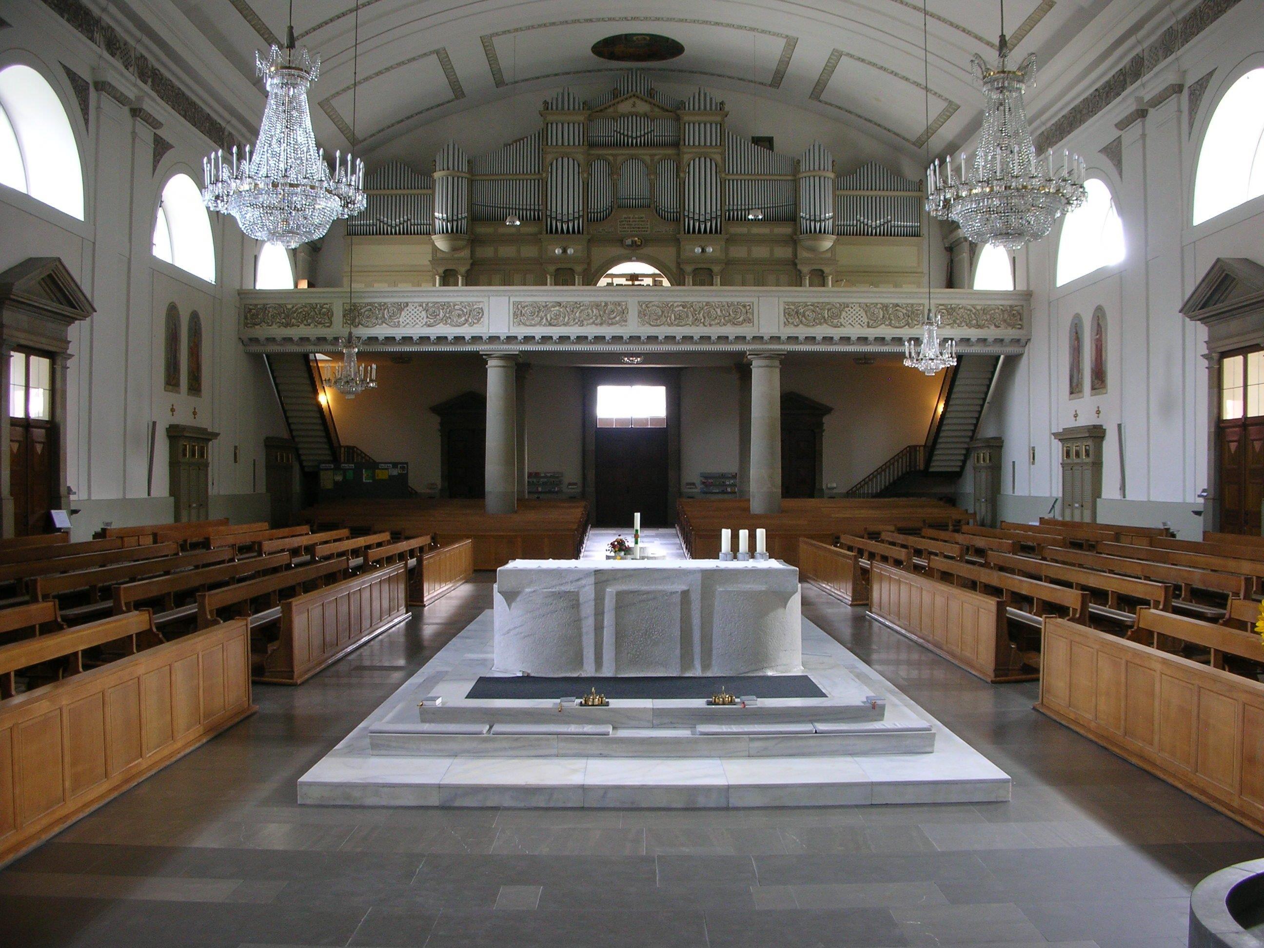 """Die Behmann-Orgel in der Stadtpfarrkirche spielt die Hauptrolle beim 23. Internationalen Festival """"Symphonische Orgelkunst St. Martin""""."""