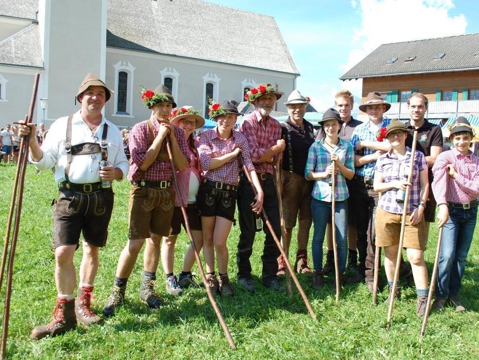 Das Team der Alpe Latons hat einen guten Alpsommer hinter sich.