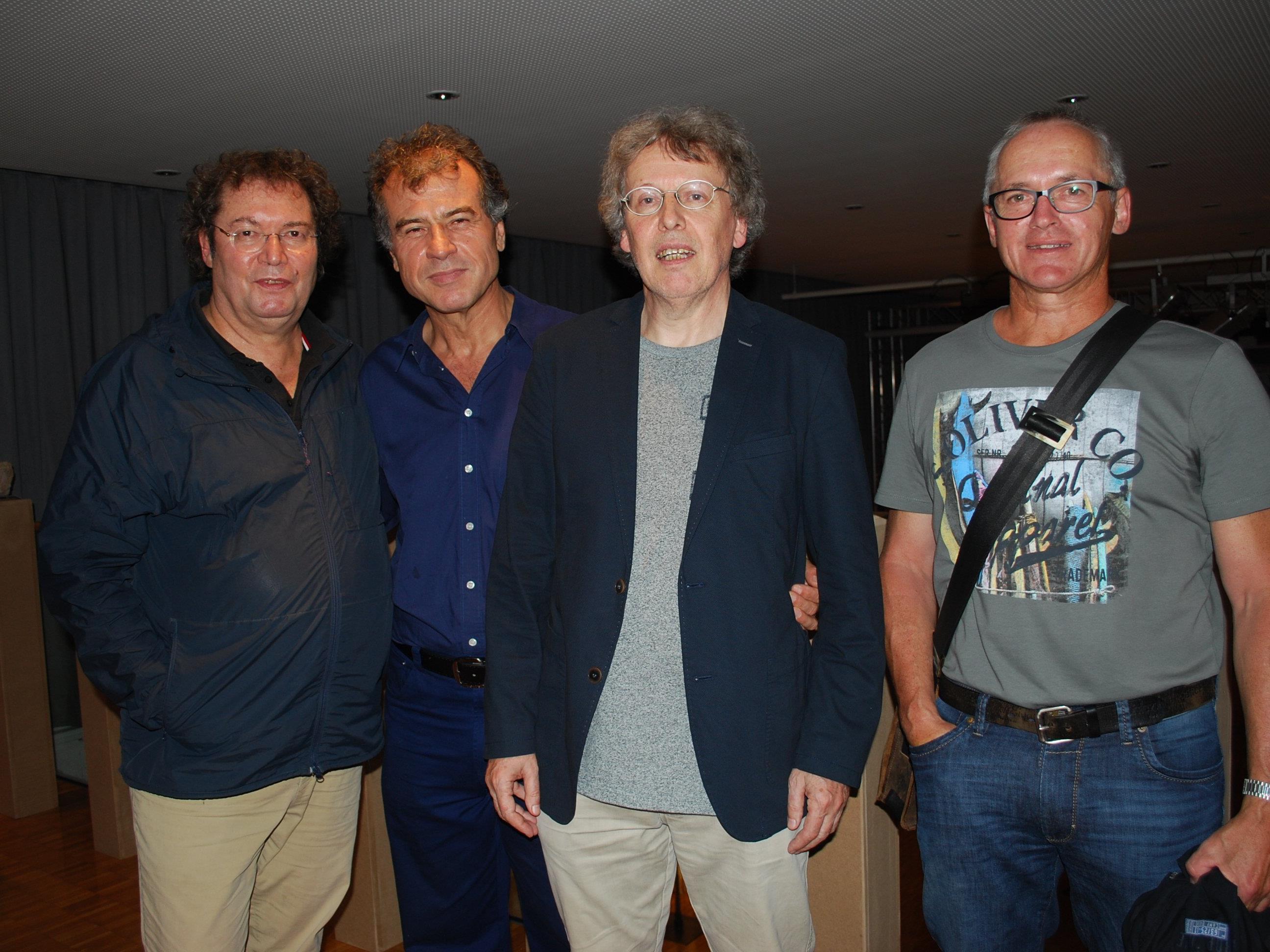 Peter Niedermair, Murat Üstün, Benny Gleeson, Georg Vith (vl)