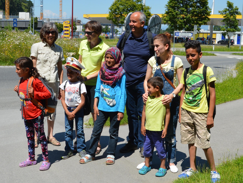 Die Wandergruppe gehört seit über einem Jahr zum Angebot für die Flüchtlinge.
