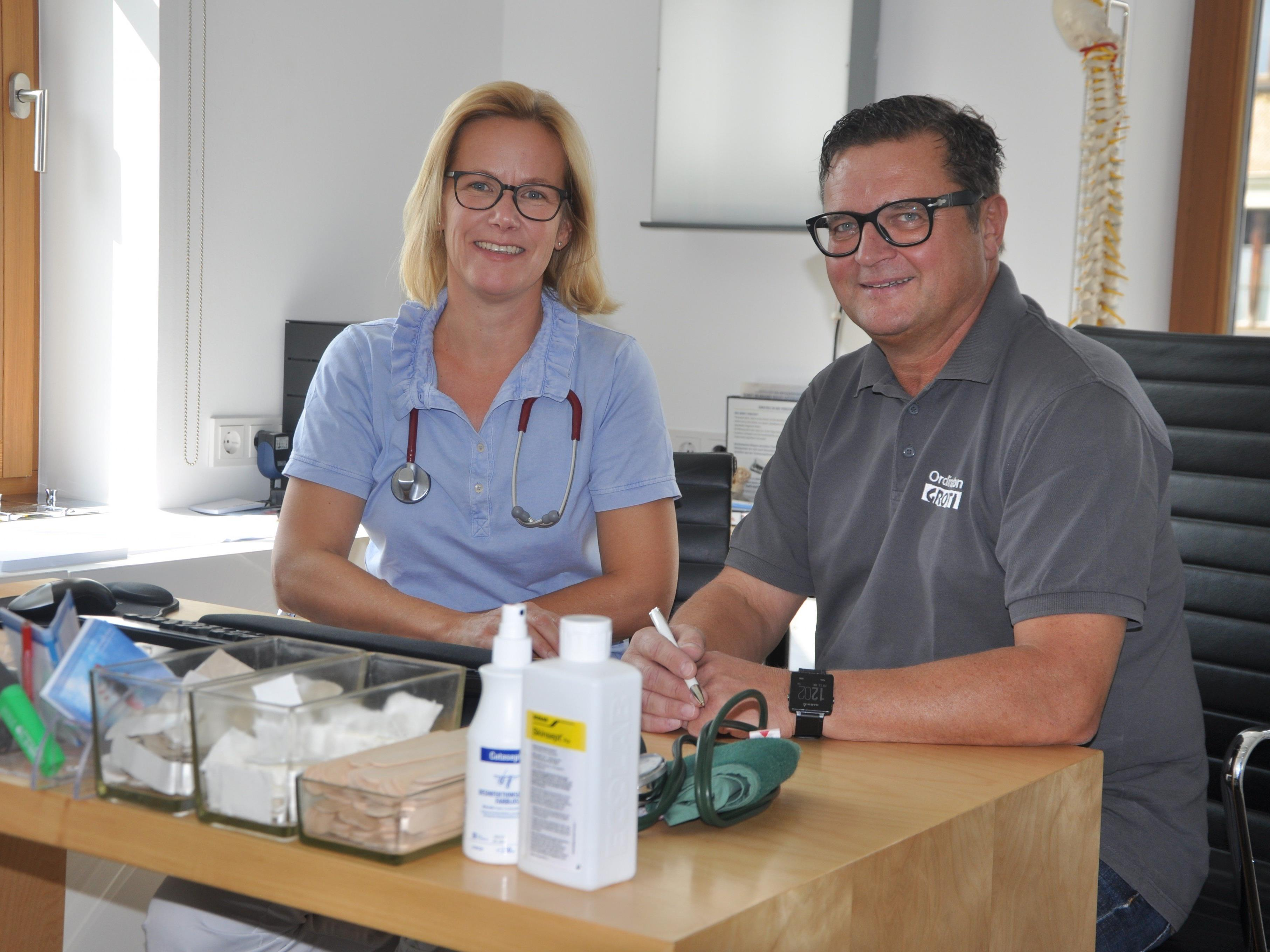 Ab 01. Oktober  - Ärztepartnerschaft Dr. Karl-Heinz Grotti  - Dr. Susanne Linder