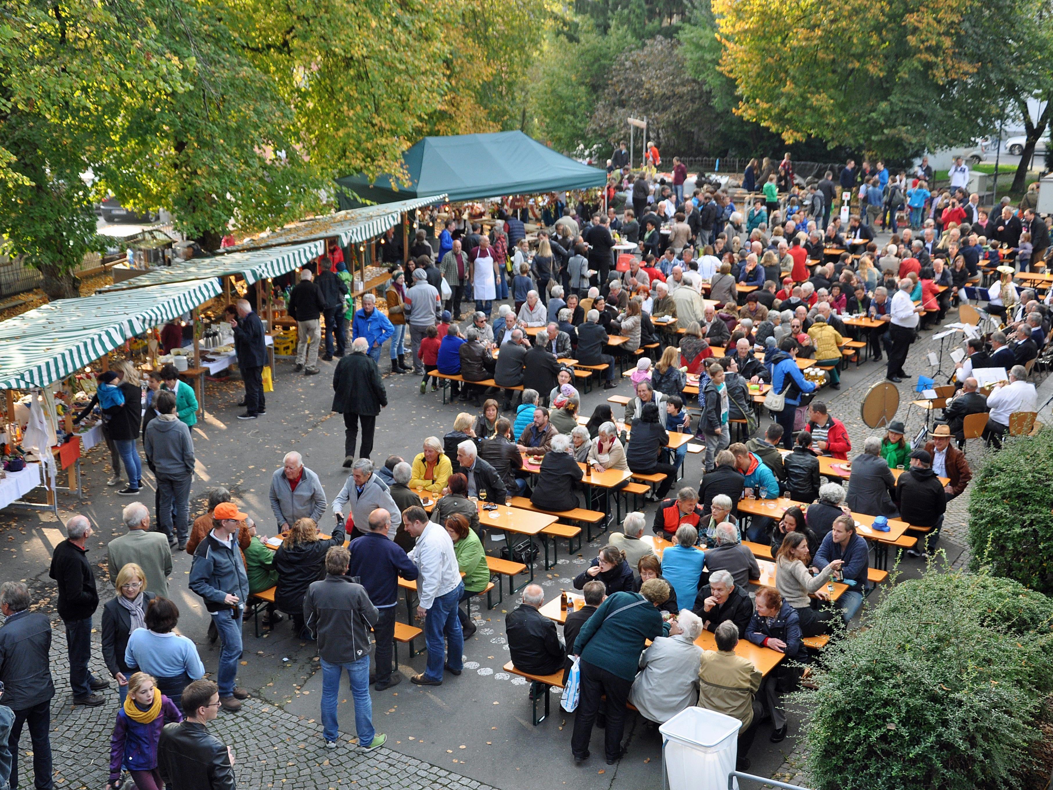 Der Oberdorfer Heurige ist ein Volksfest für die ganze Familie.