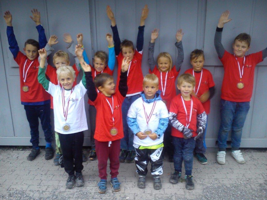 Erfolgreiche BMX-Schüler