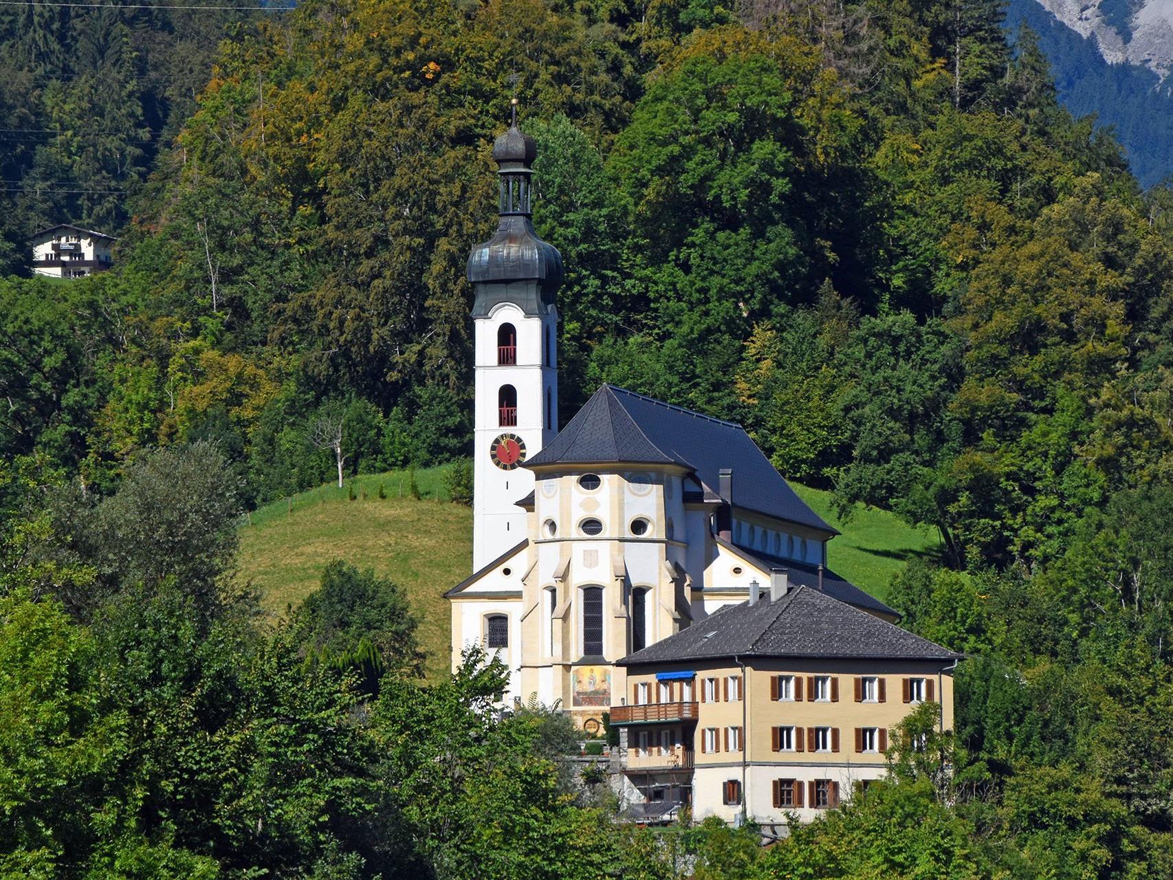 Pfarr- und Wallfahrtskirche Tschagguns