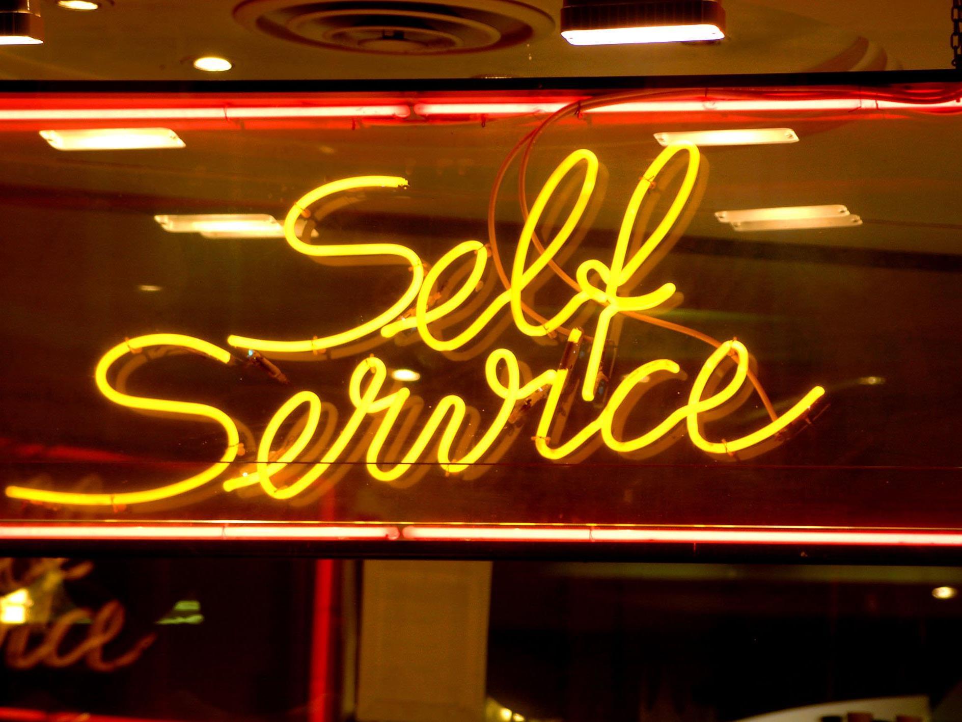 Selbstbedienungsläden wurden in der USA erfunden