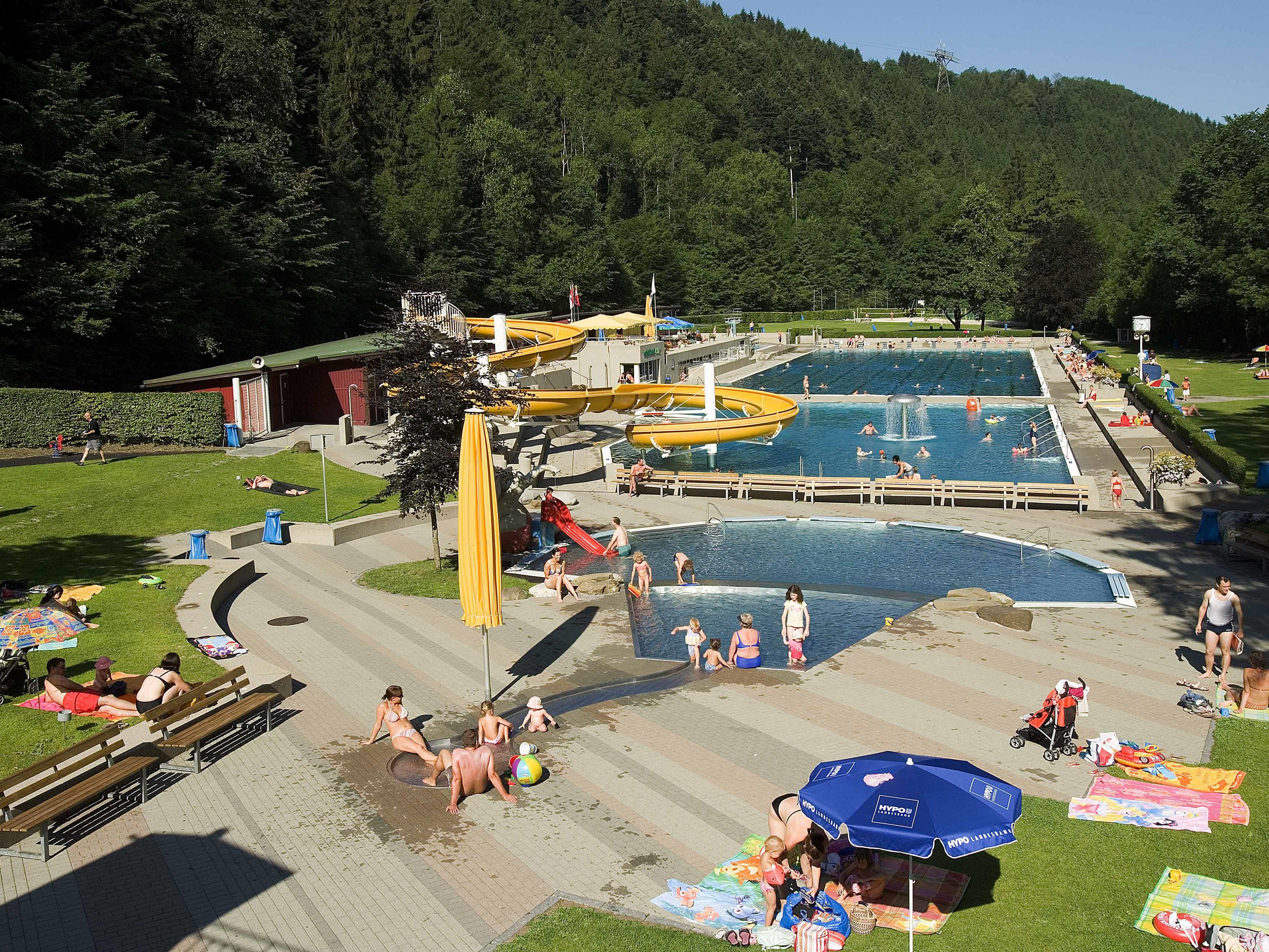 Am 11. September ist die Saison im Waldbad Enz beendet.
