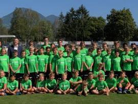Gruppenfoto zum Abschluss des Trainingscamps
