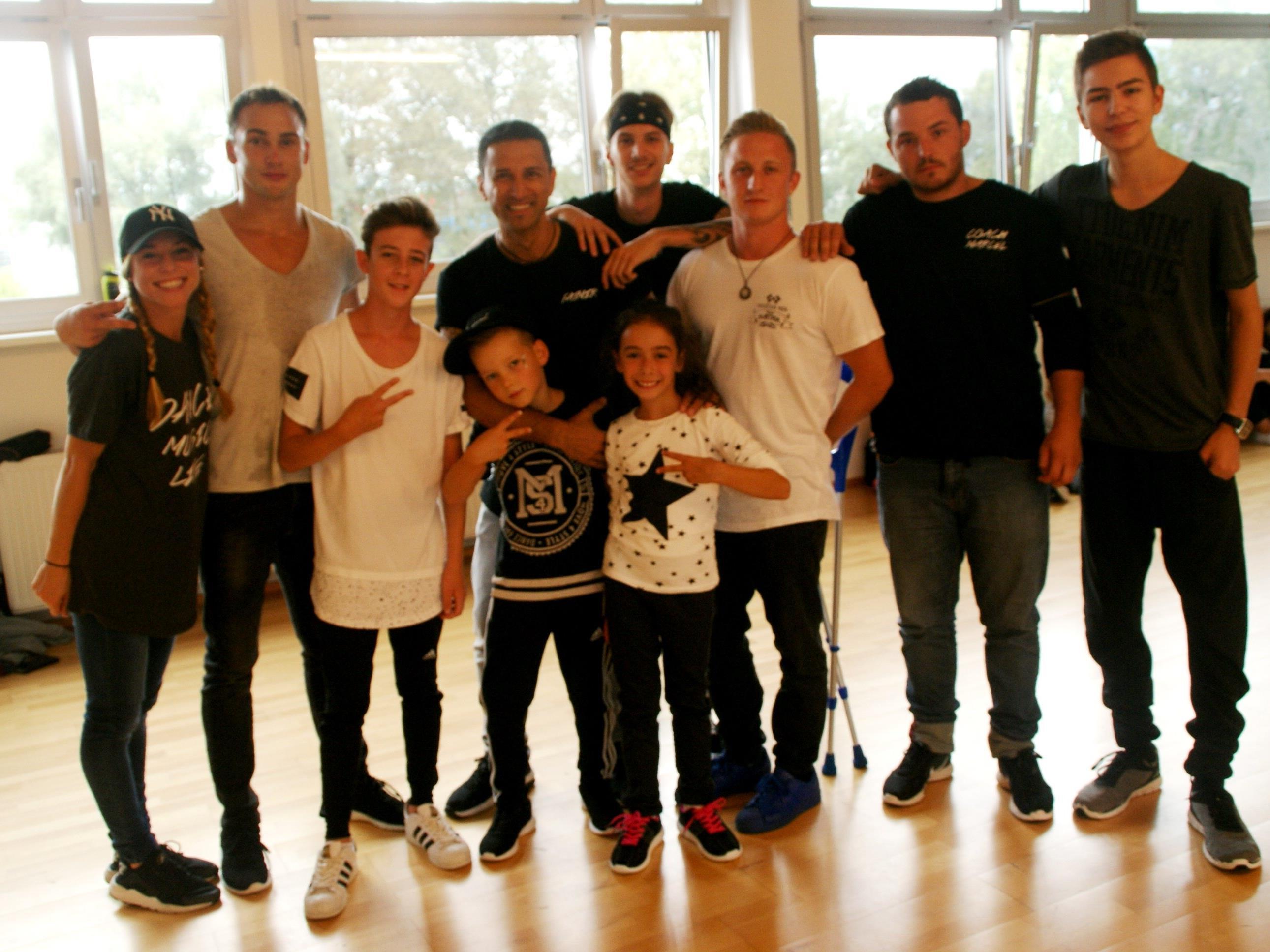 Move4dance hatte zum Tag der offenen Tür geladen.