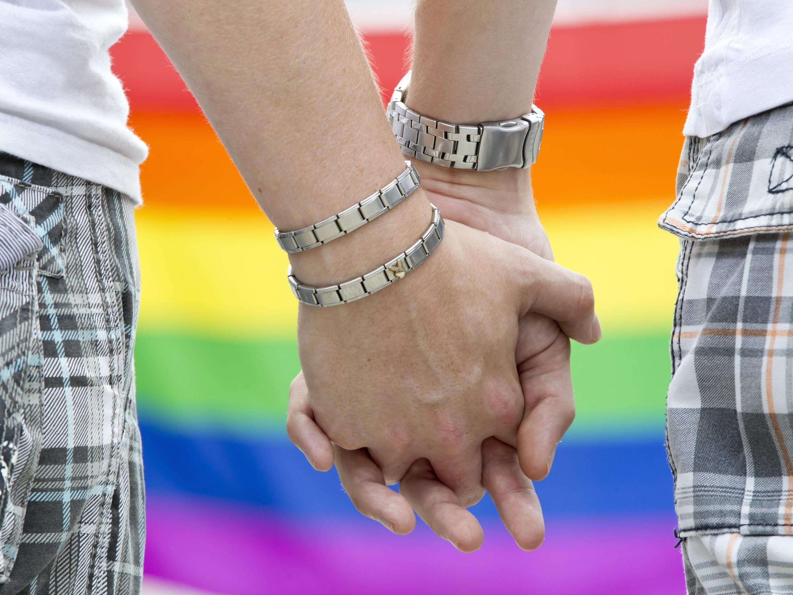 Gleichgeschlechtliche Paare dürfen in Österreich nicht heiraten.