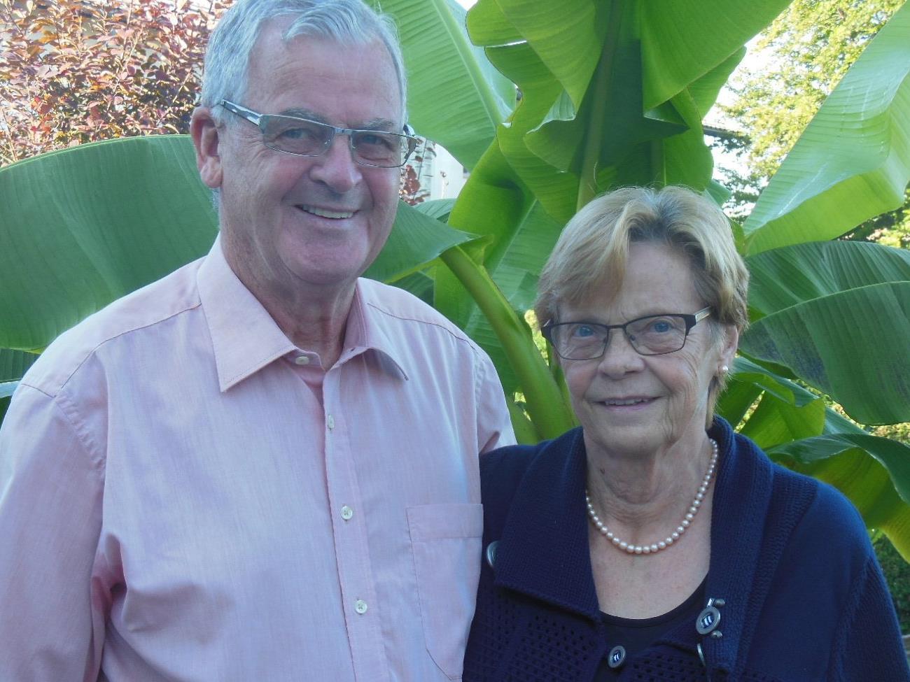 Auf ein arbeitsreiches aber auch schönes Leben blicken Esther und Rudi Fischer zurück.