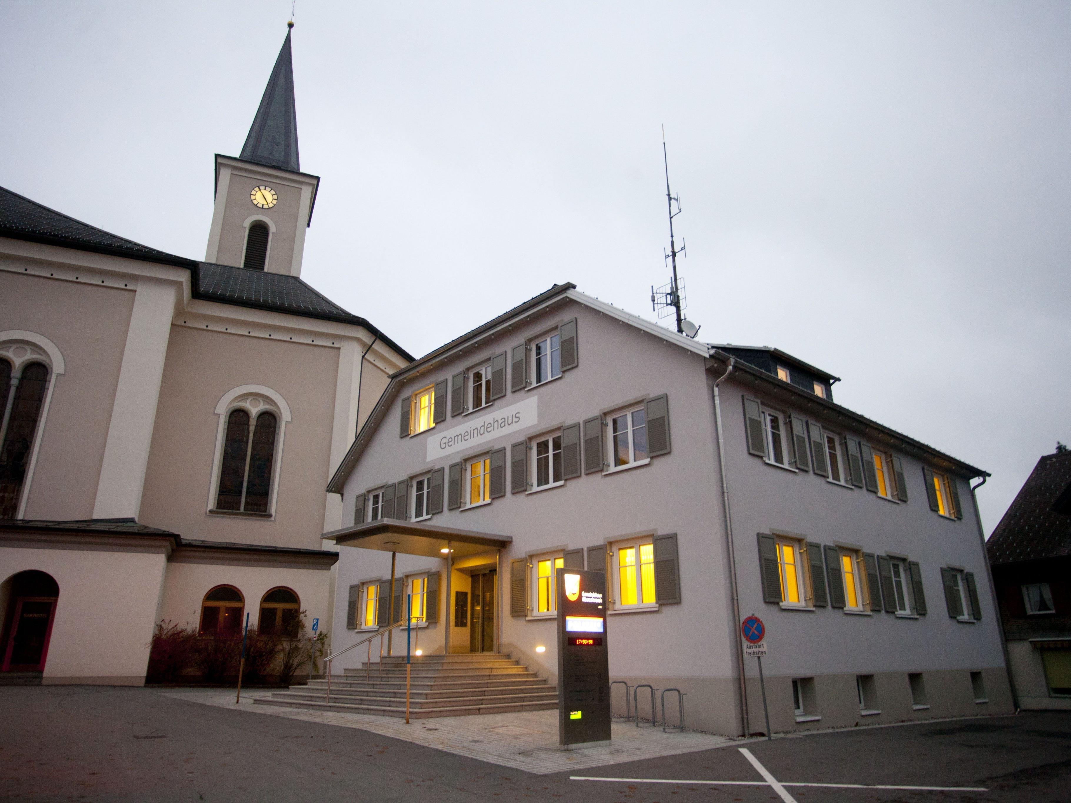 Die Gemeinde Alberschwende diskutiert Vekehrslösungen.