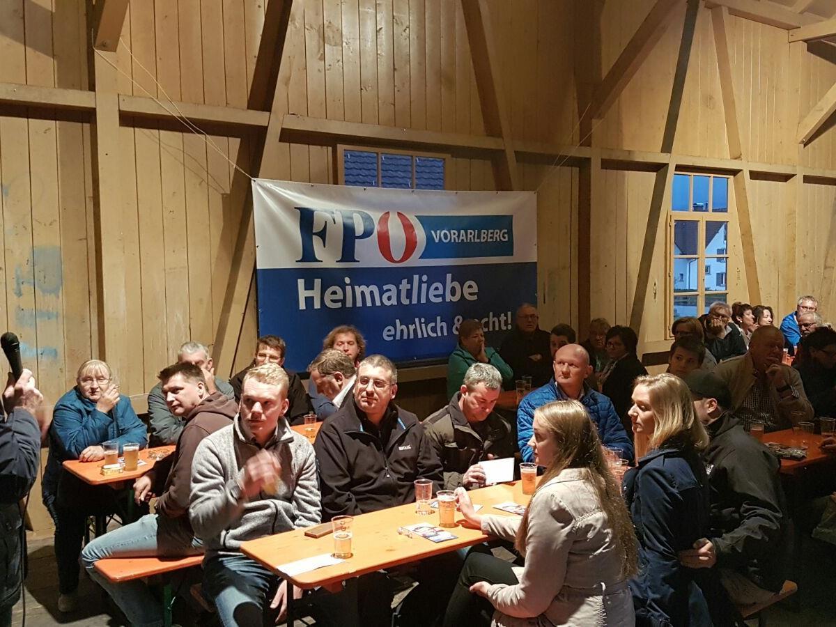FPÖ Klubobmann Allgäuer sprach über die Bundespräsidentenwahl