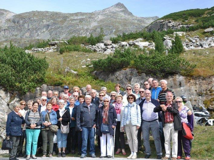 die Gruppe bei der Kärnten-Reise