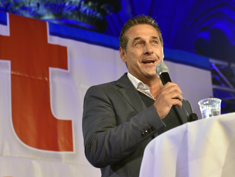 Heinz-Christian Strache unterzog sich einem Drogentest.