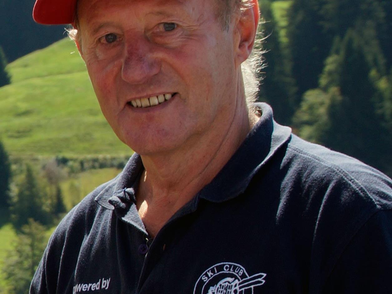 Willi Horatschek, Ehrenobmann des Skiclubs und Organisator des Pfänderlaufs.
