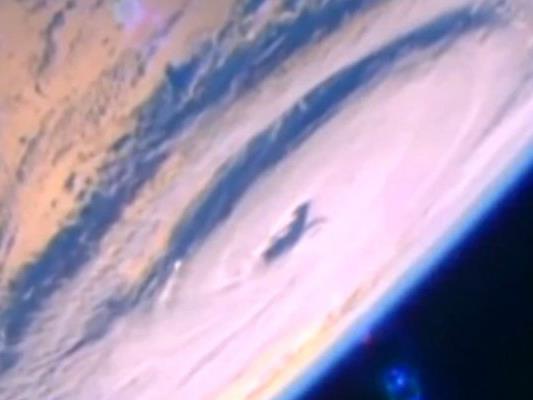 """Der Hurrikan """"Madeline"""" von der ISS aus aufgenommen."""
