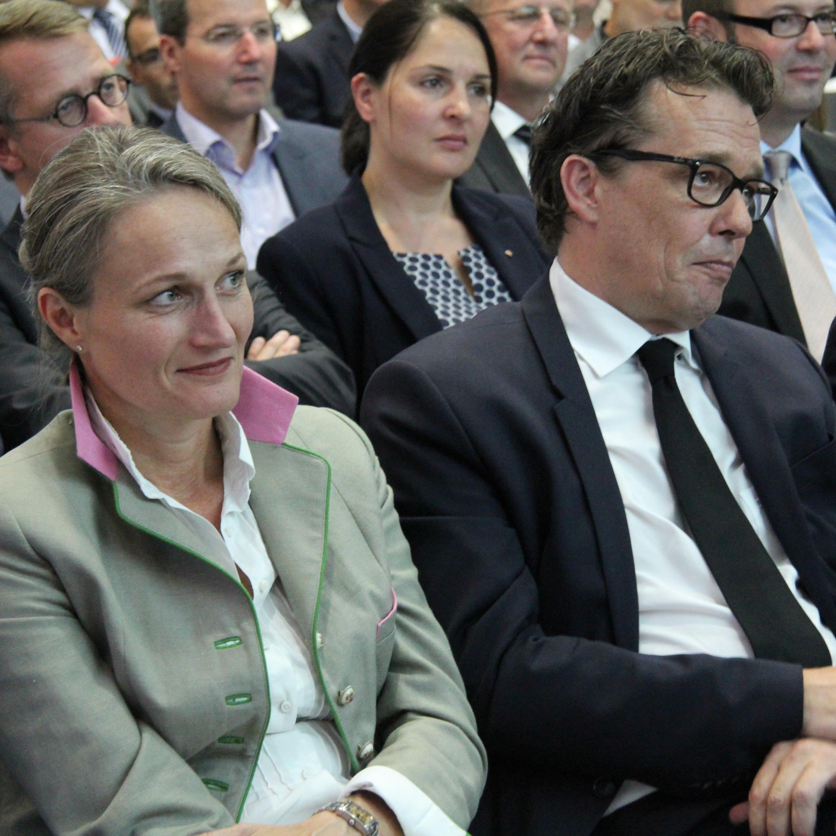 Hans-Peter Metzler wurde einstimmig als Nachfolger von Manfred Rein bestätigt.