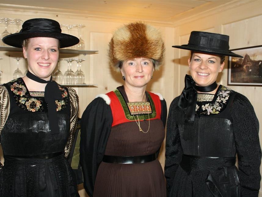 Beim Bregenzerwälder Trachtentag sind alle eingeladen, Tracht oder Juppe zu tragen.