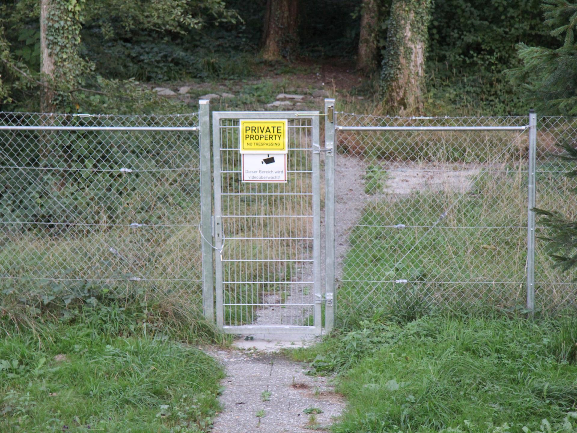 Rastplatz Rankweil: Das Tor zum Wald bleibt von nun an