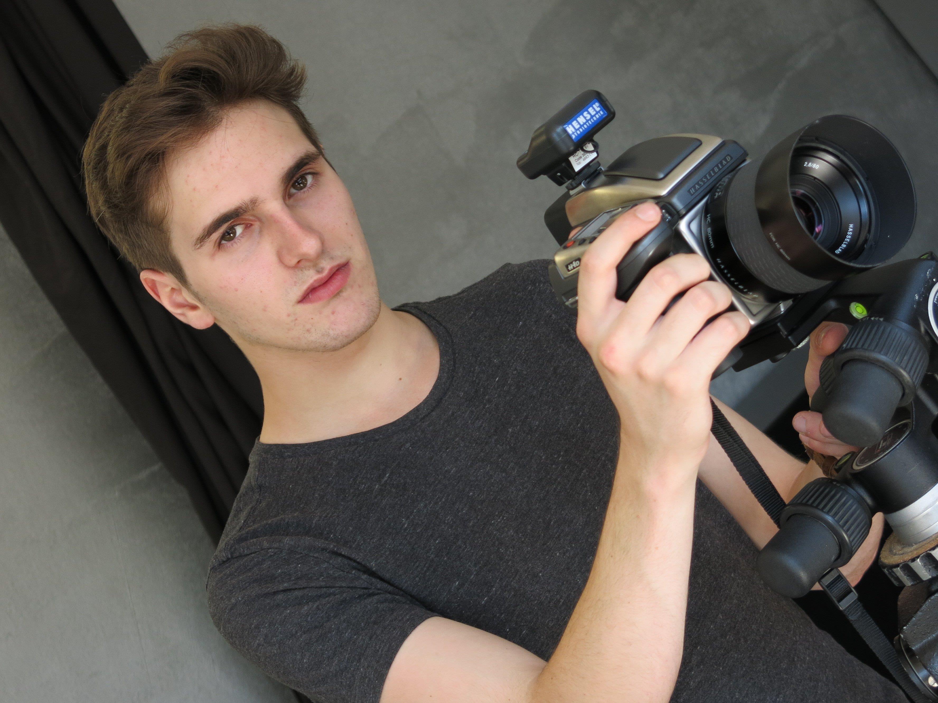 David Trucker bekommt das Rüstzeug zum professionellen Fotografen.