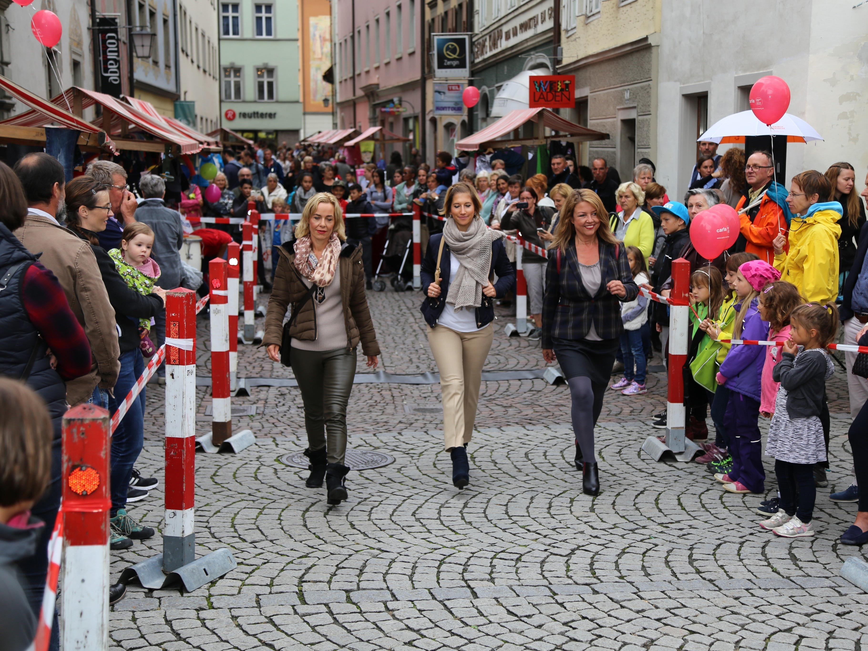 Die Modeschau bildete den großen Höhepunkt der Veranstaltung.
