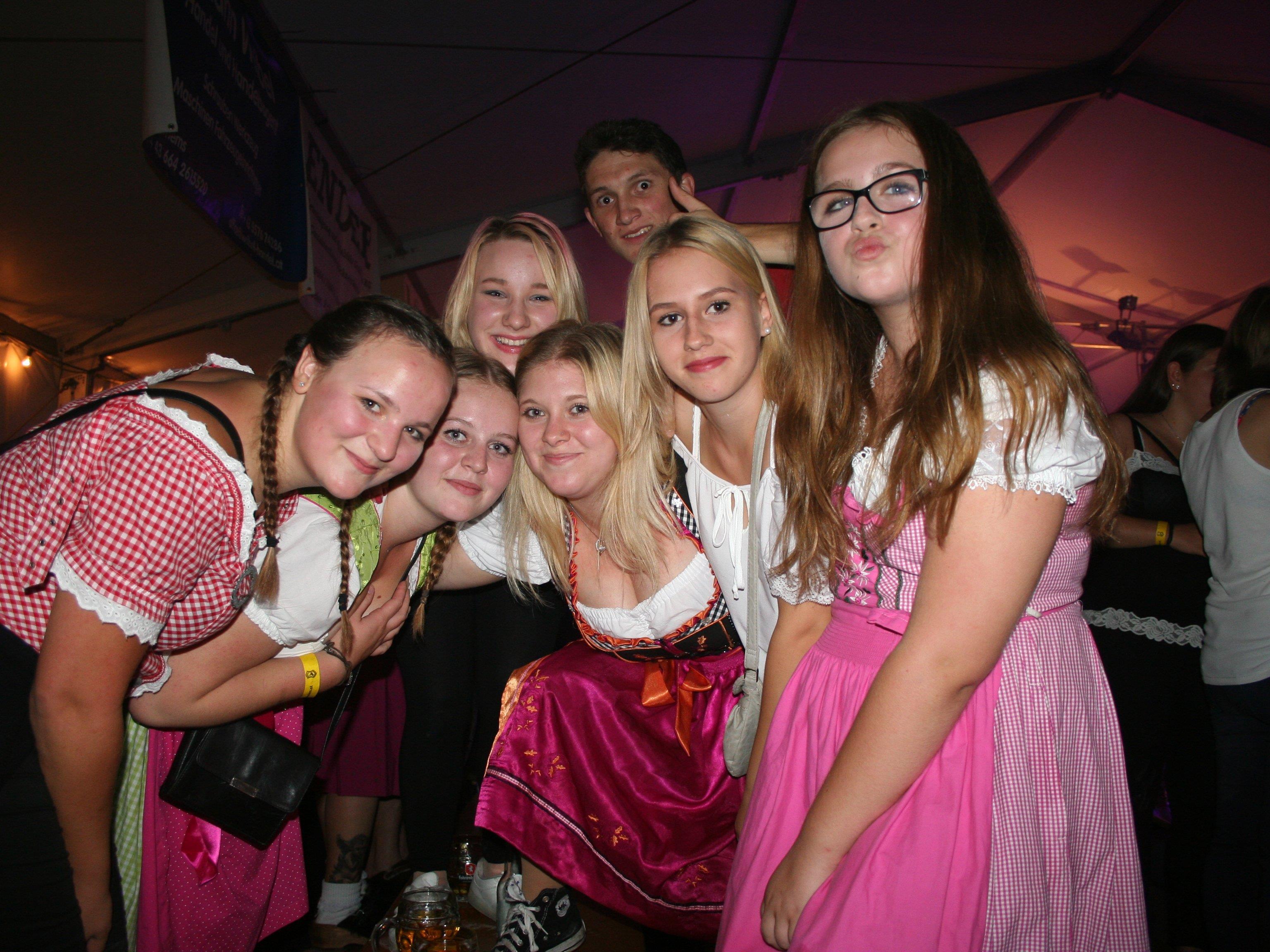 Auch diese Mädels hatten sichtlich viel Spaß.