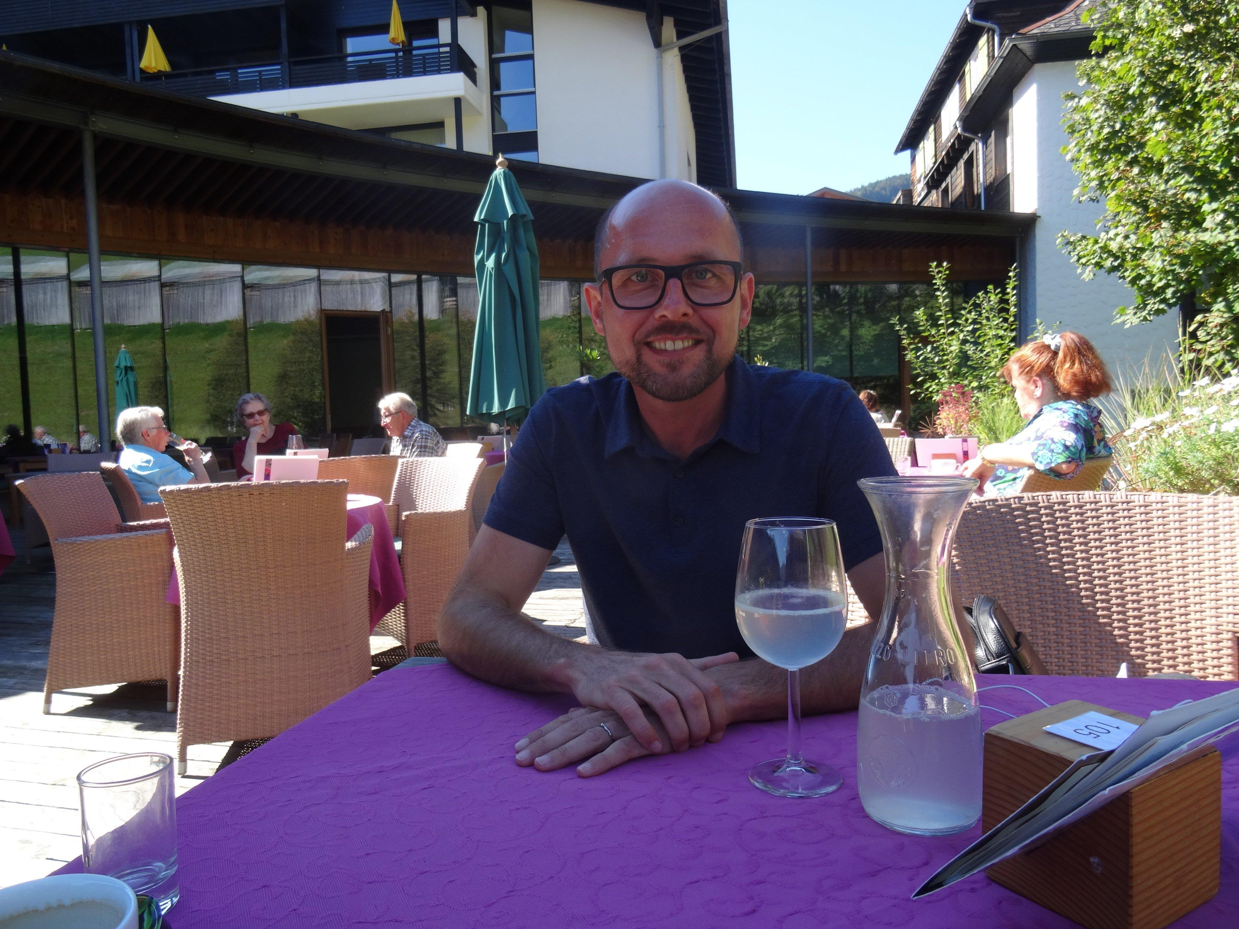 Michael im ersten Interview nach seinem Rücktritt mit den Vorarlberger Nachrichten.