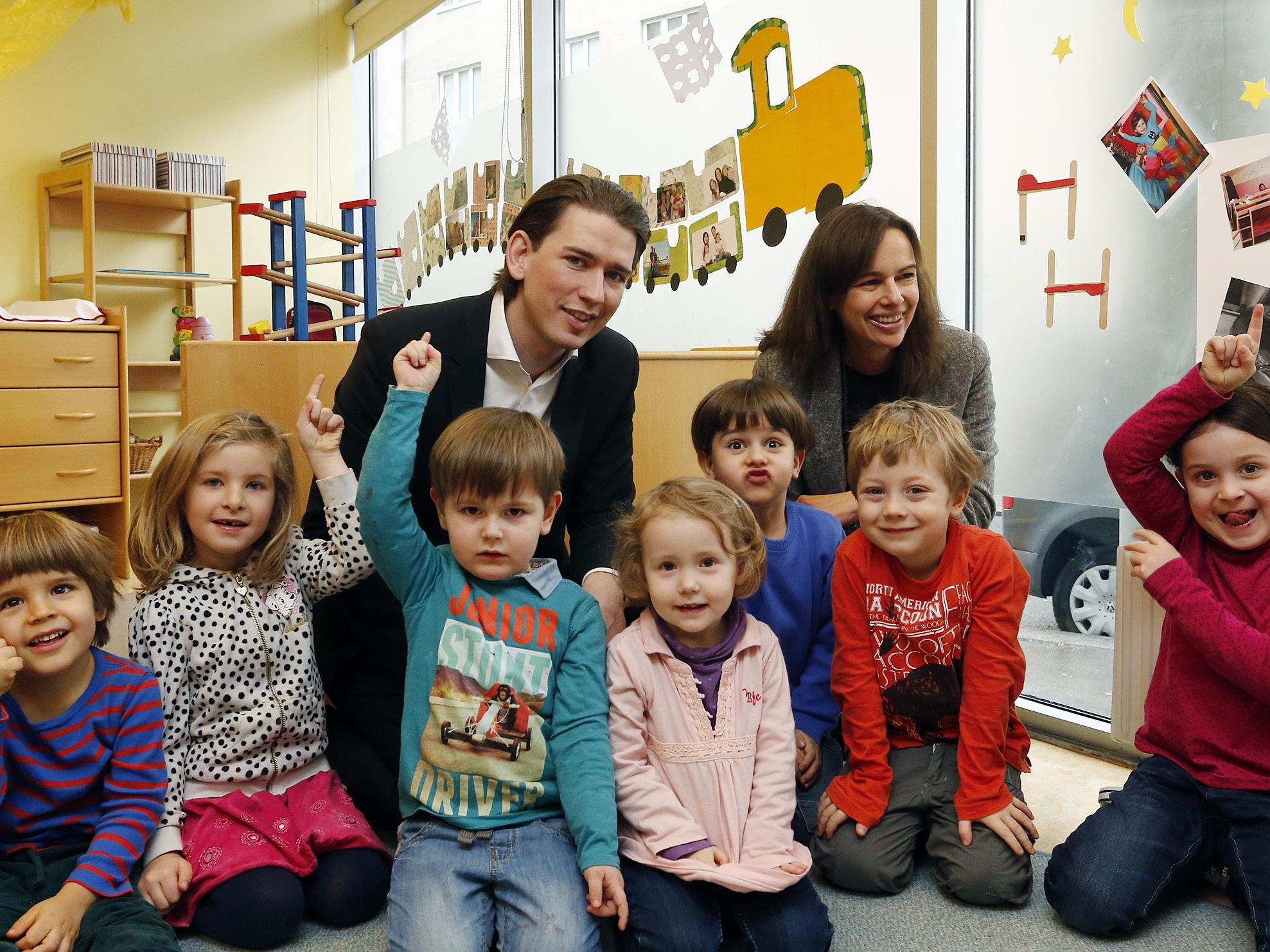 Die Politik diskutiert seit Jahren über die Situation in Österreichs Kindergärten.