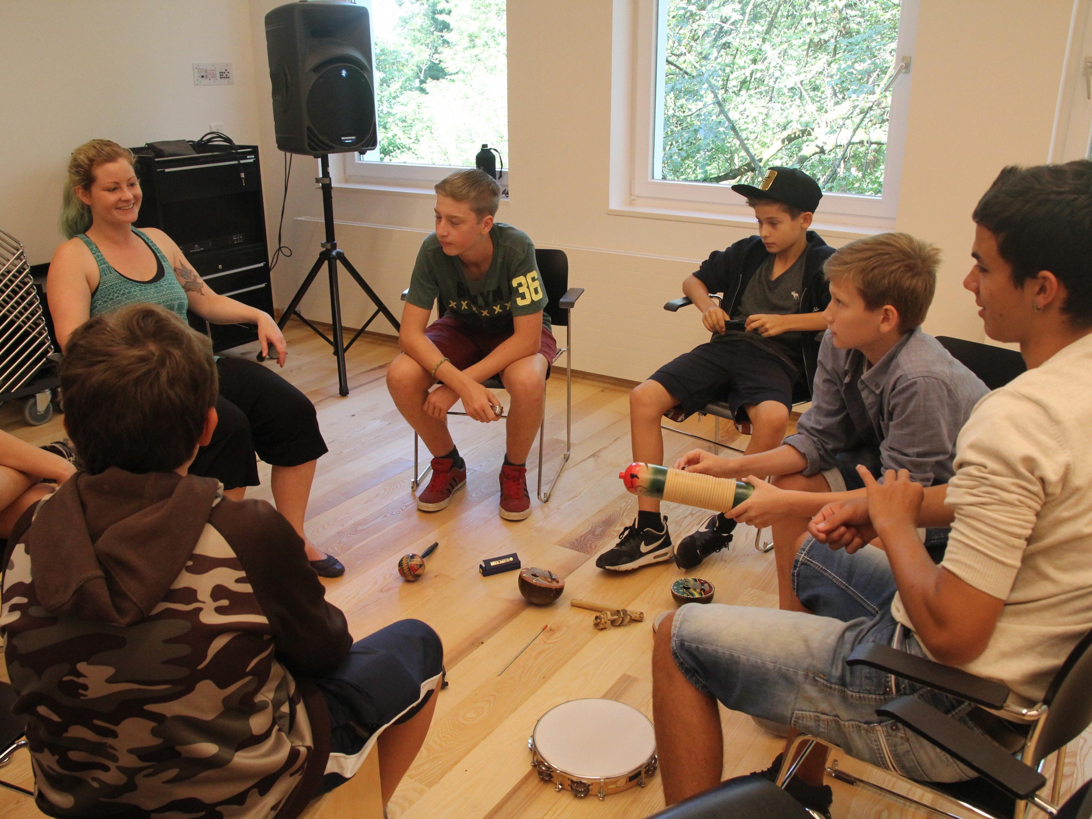 Erfolgreiche Musiksommerwoche in St. Arbogast.