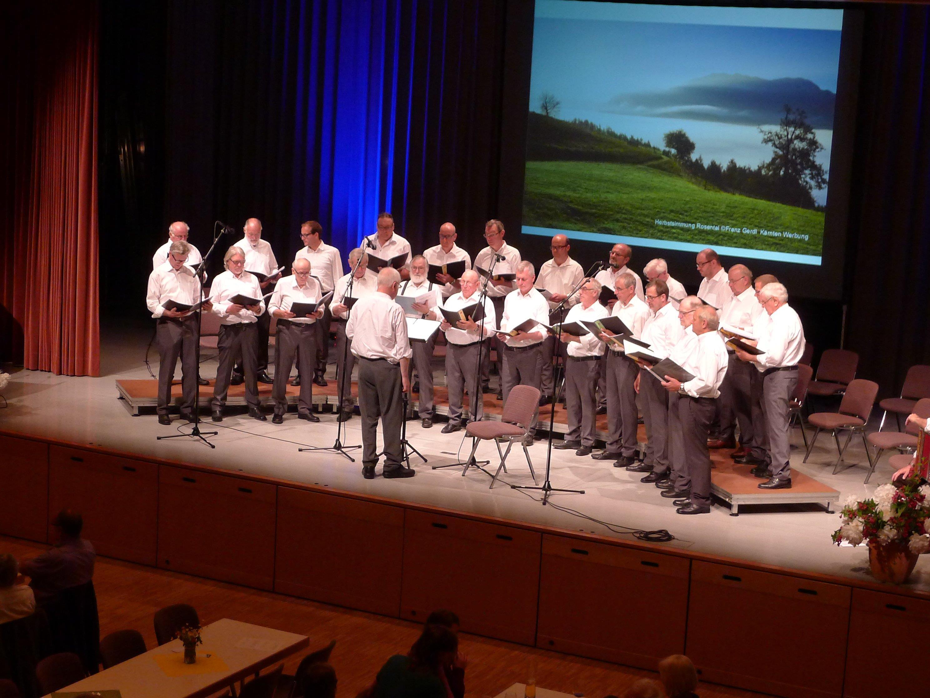 Konzert des Männerchores