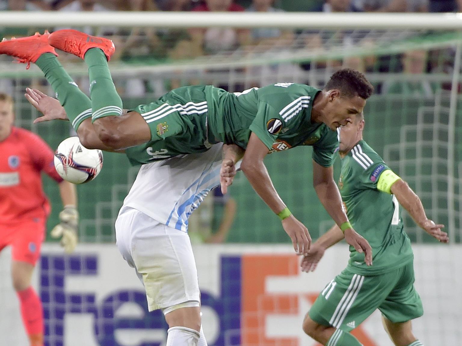 Rapid Wien besiegte Genk mit 3:2.
