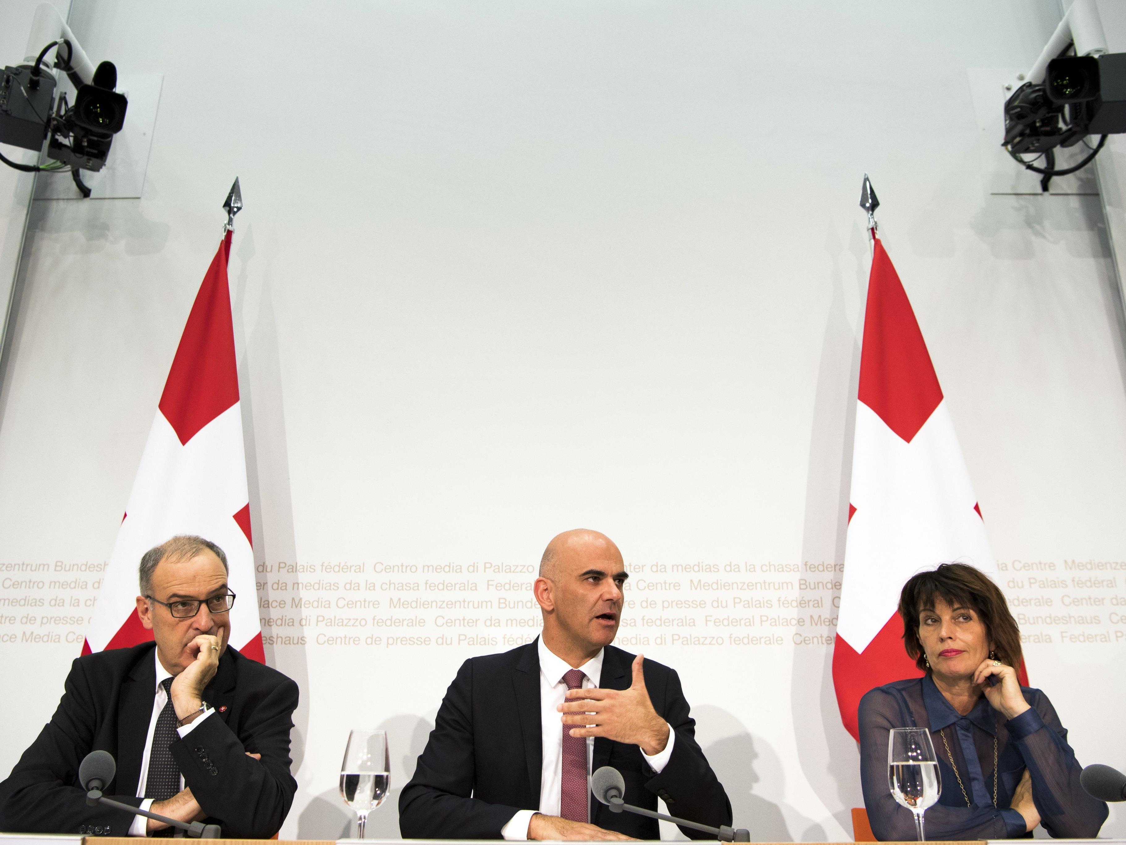 Das Schweizer Volk stimmte für mehr BEfügnisse für seinen Geheimdienst.