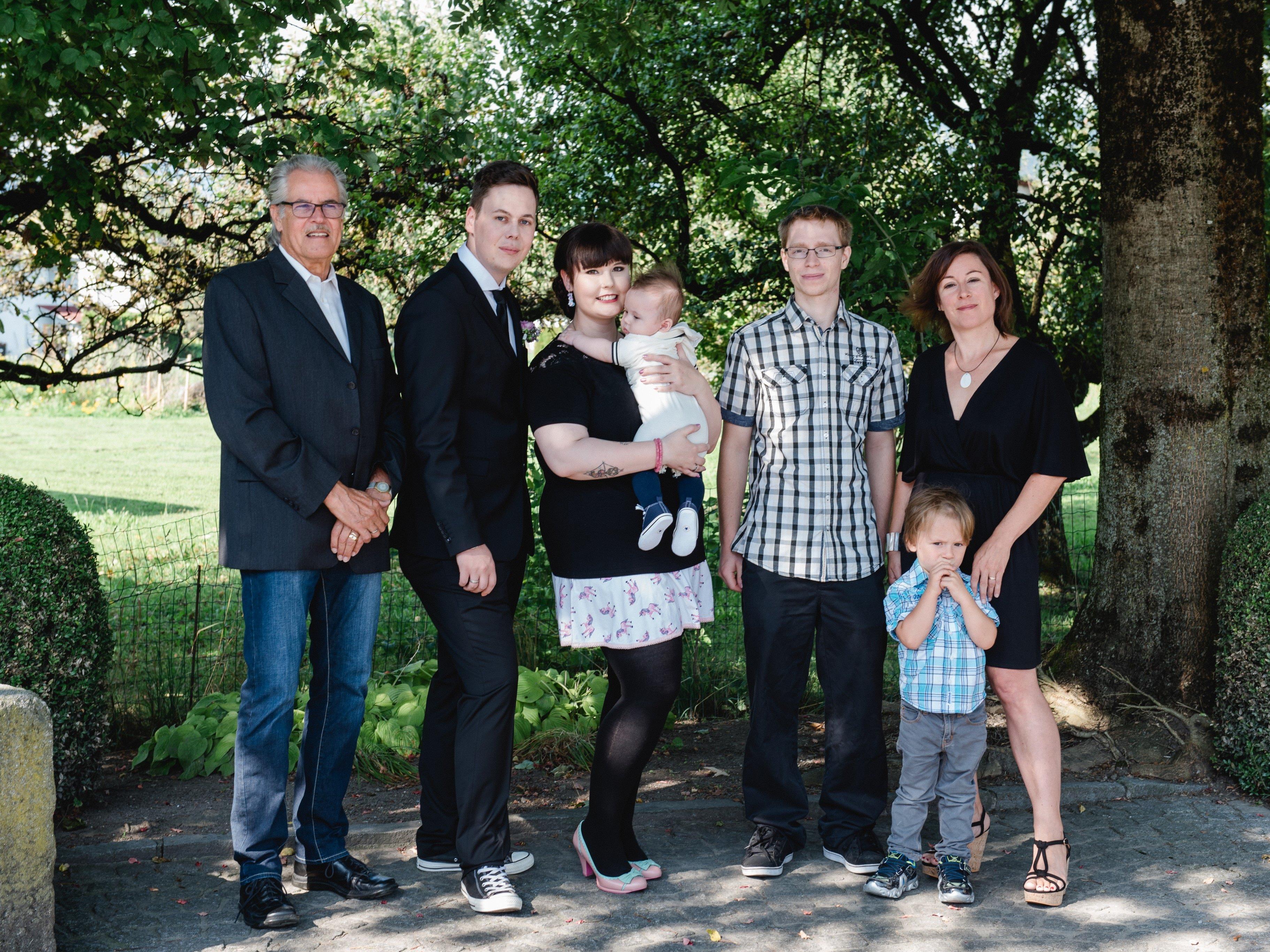 Kevin und Erik Raphael Hermann empfingen die Hl. Taufe