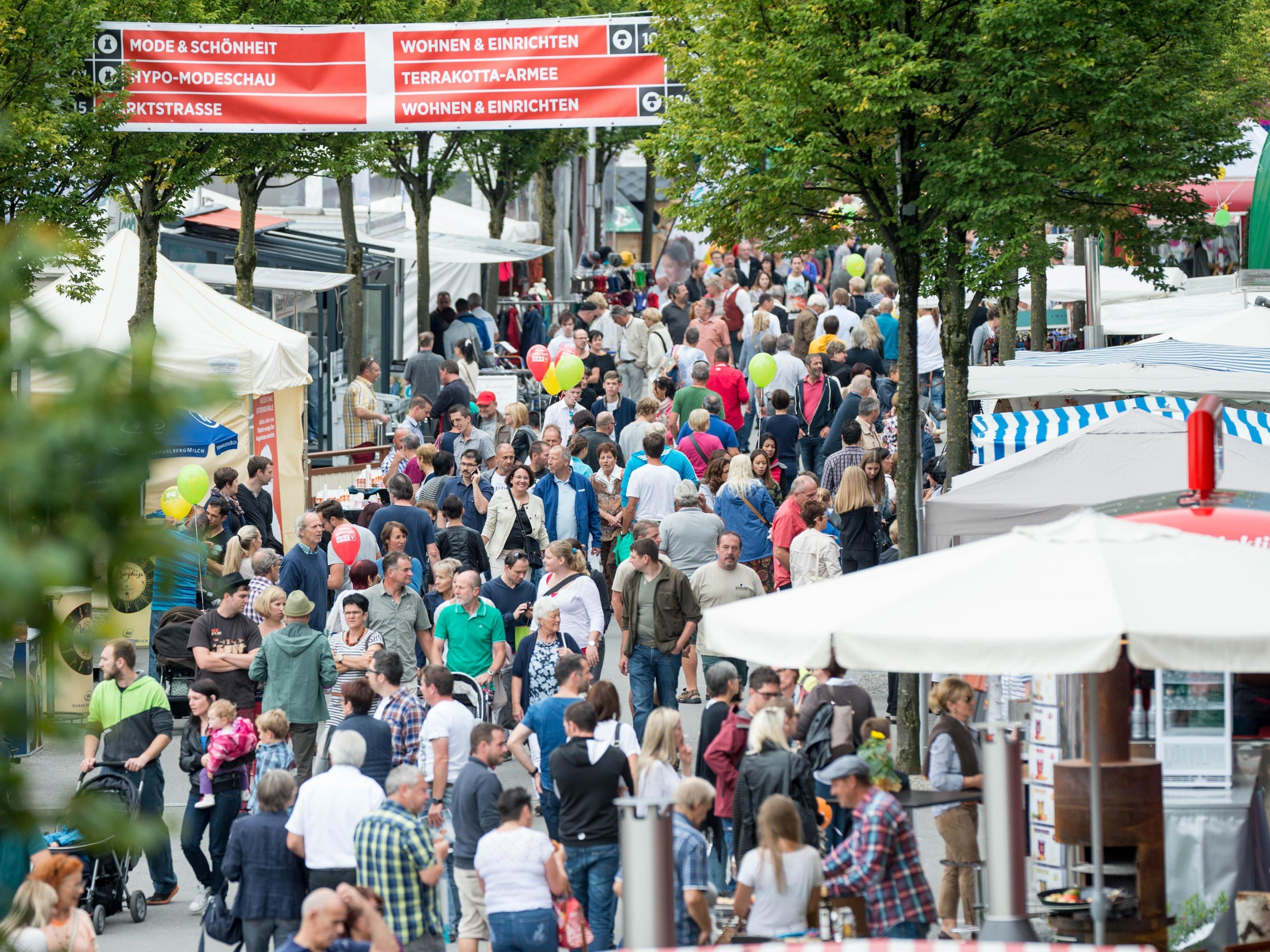 Am Mittwoch wird in Dornbirn die Herbstmesse eröffnet.