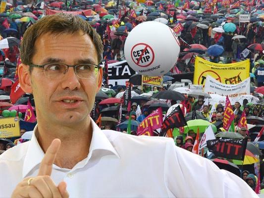 Markus Wallner fordert einen Verhandlungsstop für TTIP.
