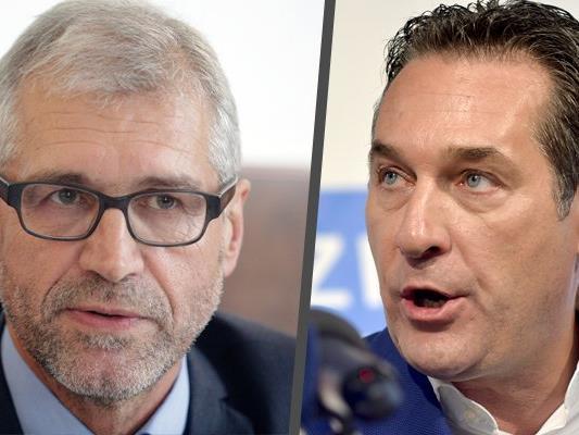 Harald Walser liegt mit Strache und der FPÖ im Clinch.