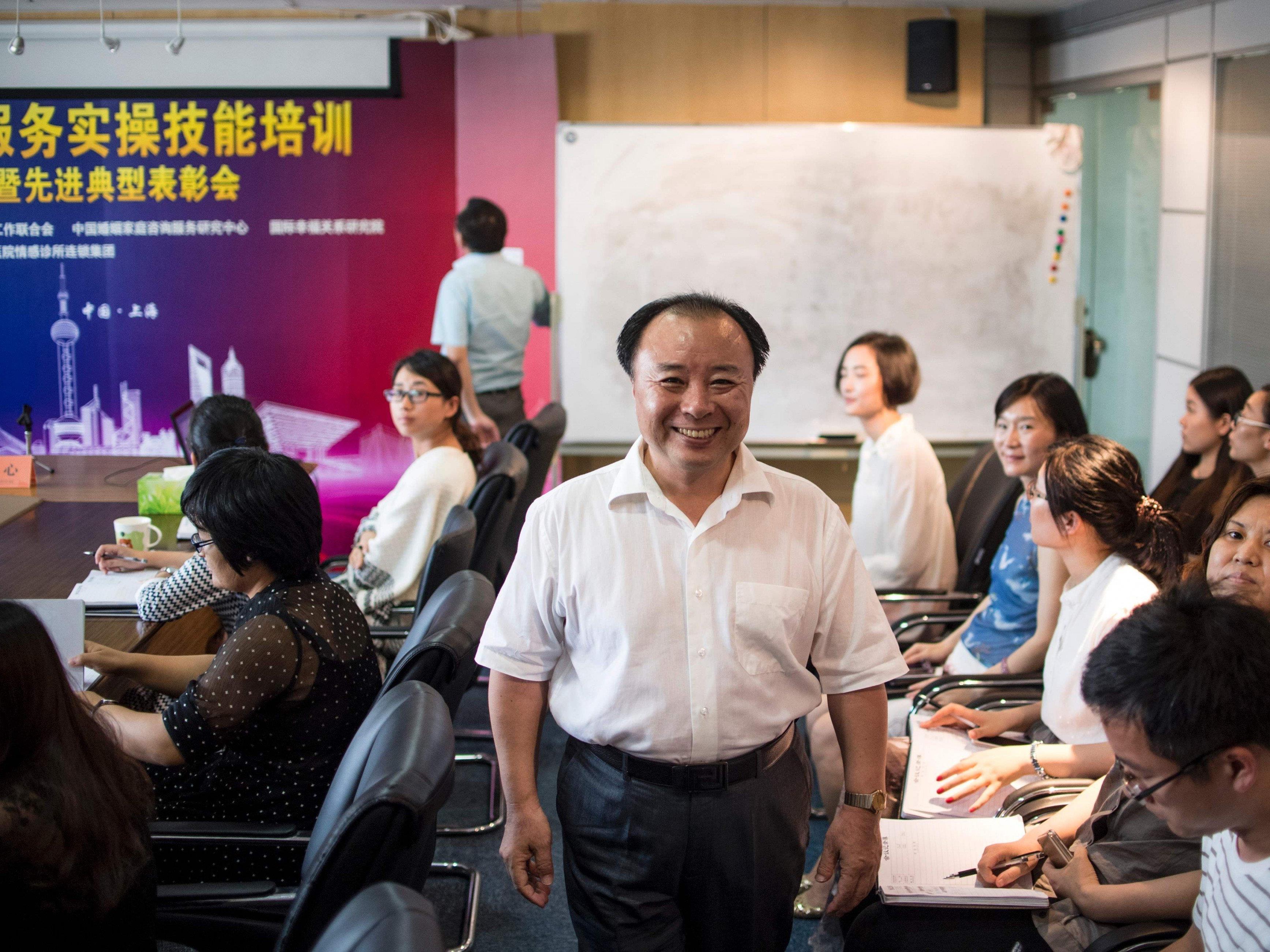 Shu Xin, der Geschäftsführer der Agentur Weiqing.
