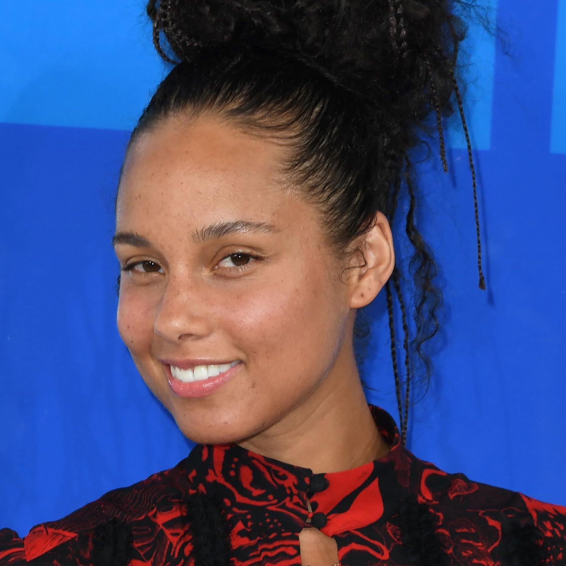 Alicia Keys musste viel Kritik über sich ergehen lassen.