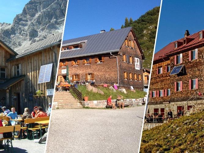Eine halbe Million Euro wird in die Wasserinfrastruktur auf drei alpinen Schutzhütten in Vorarlberg investiert.