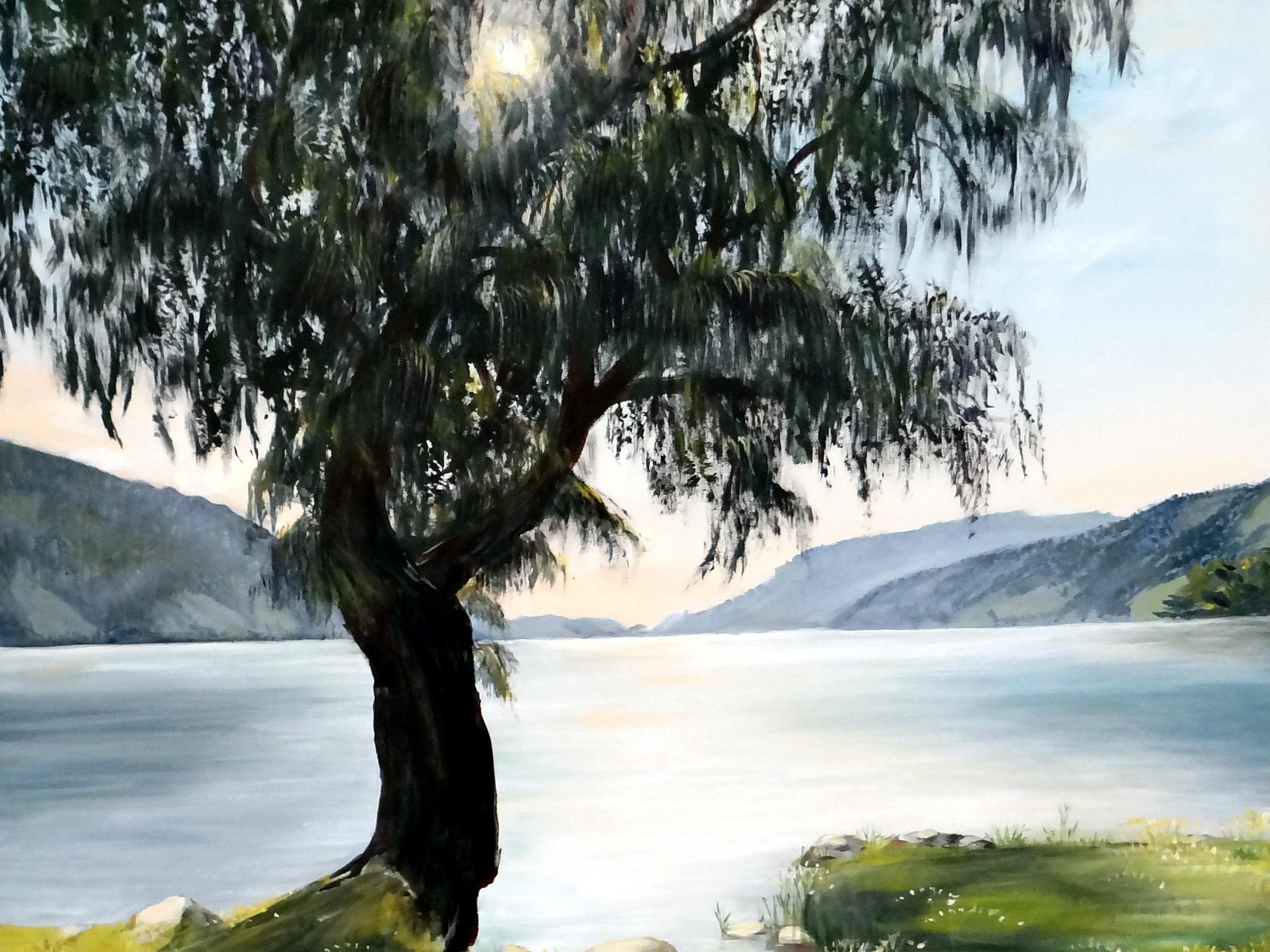 """""""Am Alpsee"""" von Ingeborg Schiele"""