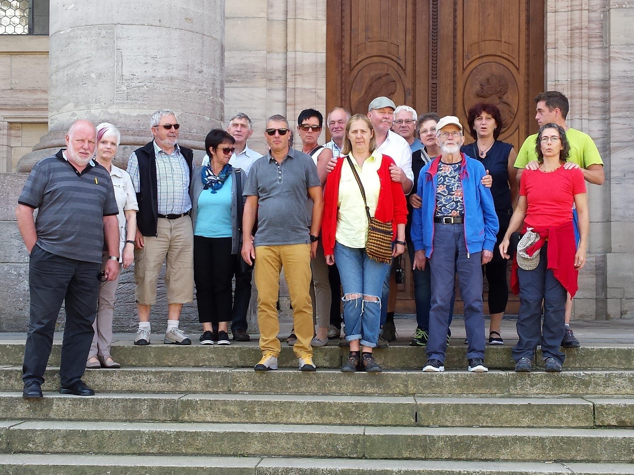 In diesem Jahr ging der Vereinsausflug der Naturwachtgruppe Götzis zum Schluchensee nach Deutschland