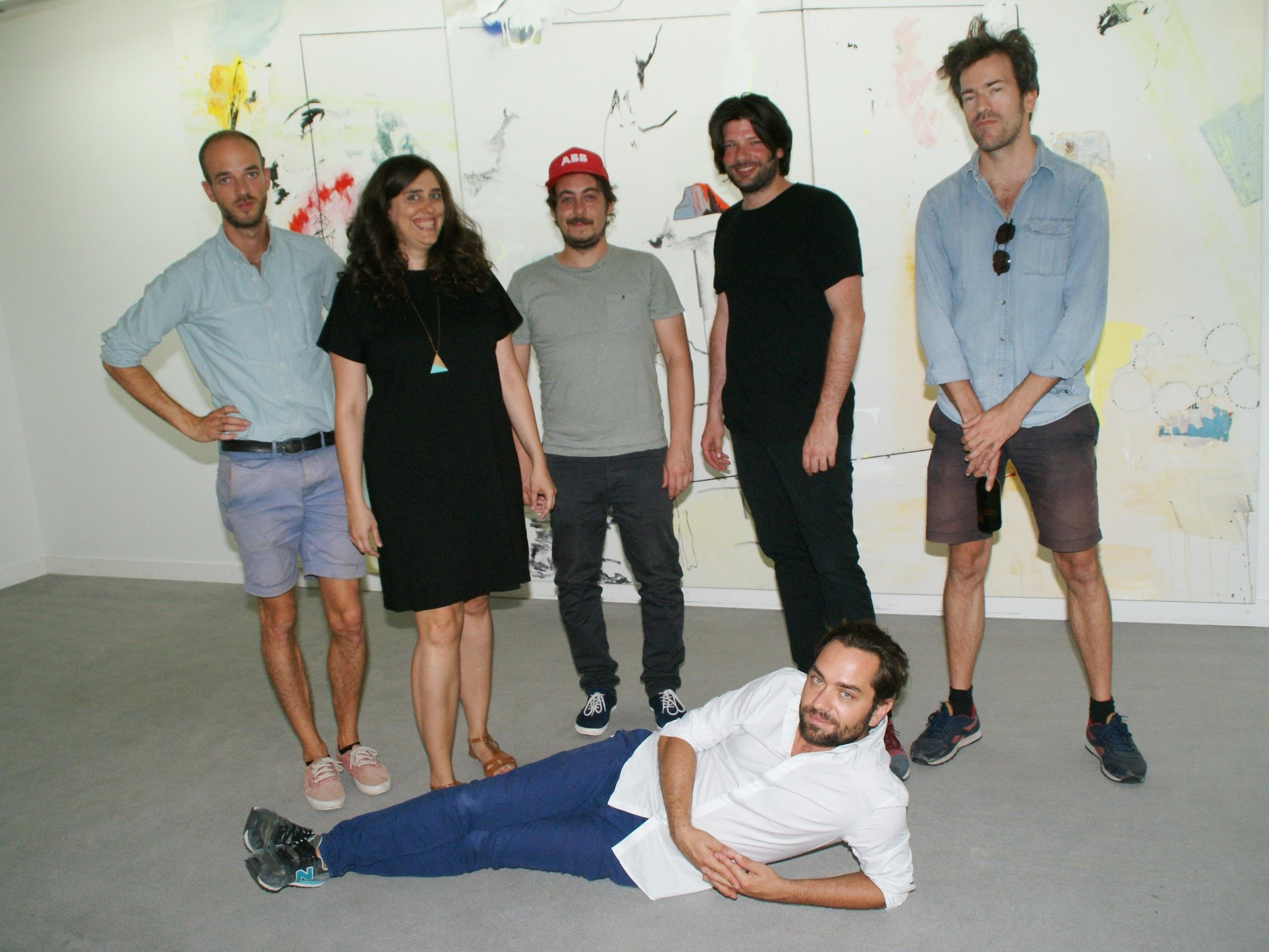 Baer entdeckelte die Galerie Hollenstein
