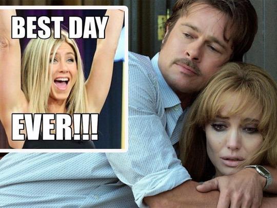 Was denkt Jennifer Aniston über die Scheidung von Brangelina?