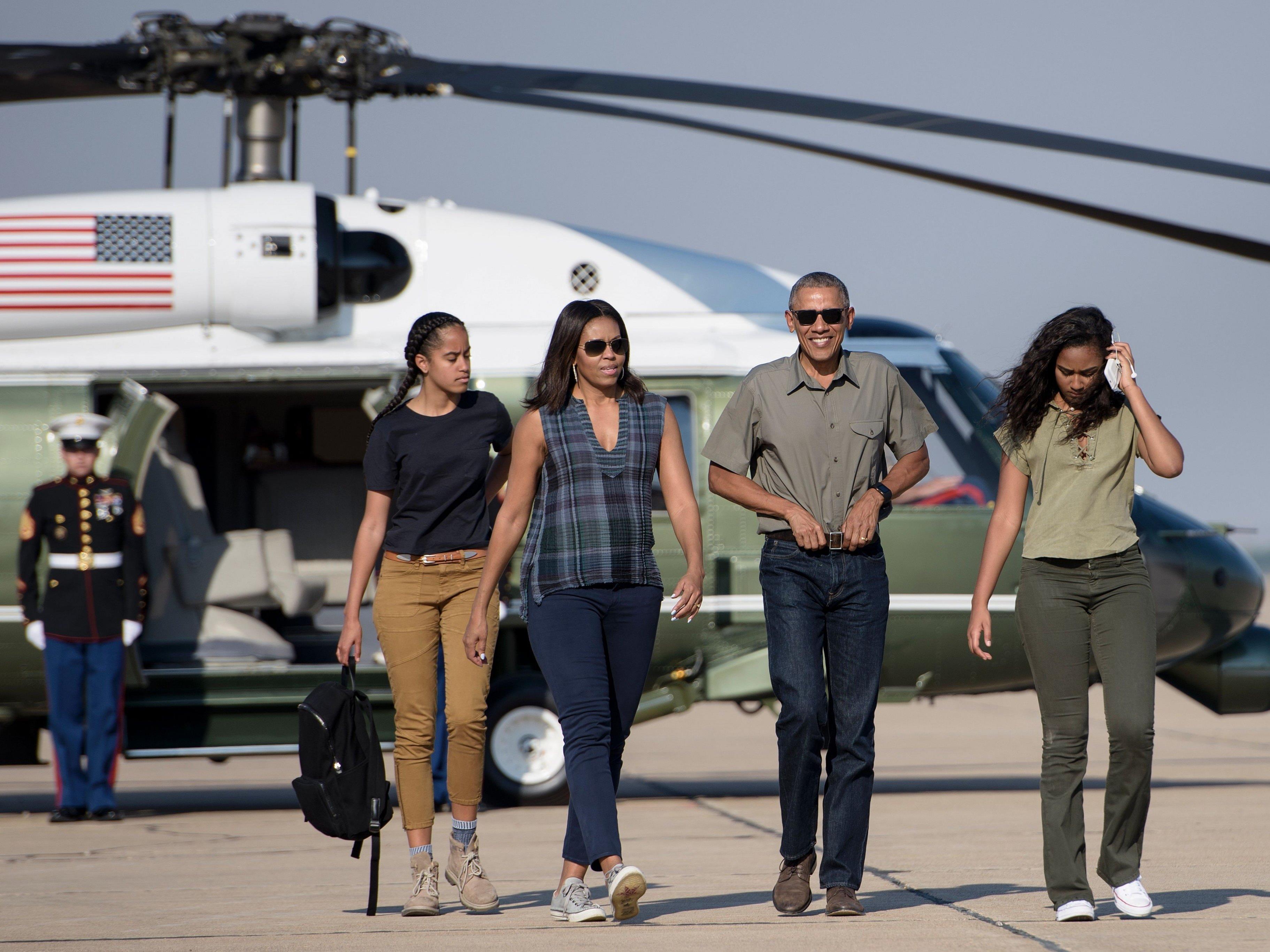 Familie Obama muss bald aus dem Weißen Haus ausziehen.