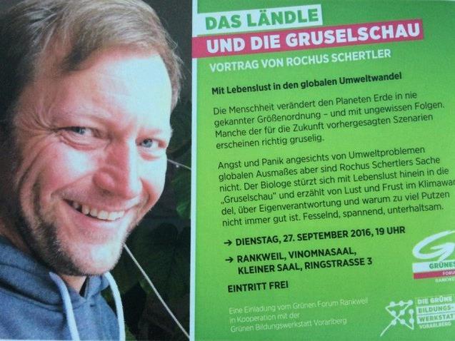 Das Ländle und die Gruselschau - Vortrag von Rochus Schertler