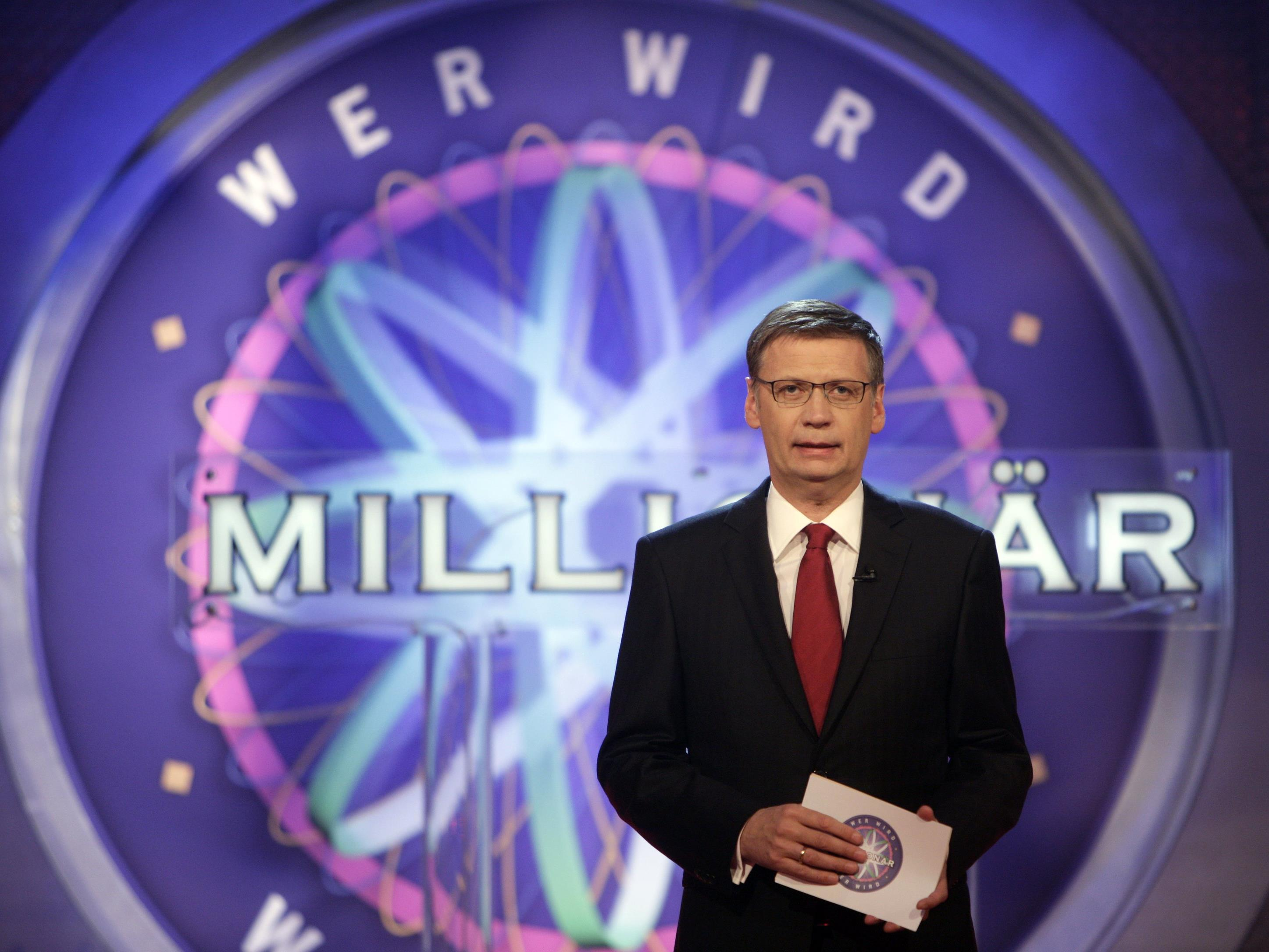 Günther Jauch moderiert die deutsche Sendung schon seit 17 Jahren