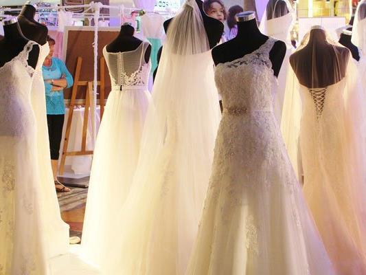 Rund 100 Aussteller machen bei der Hochzeitswelt Wien Lust auf's Heiraten.