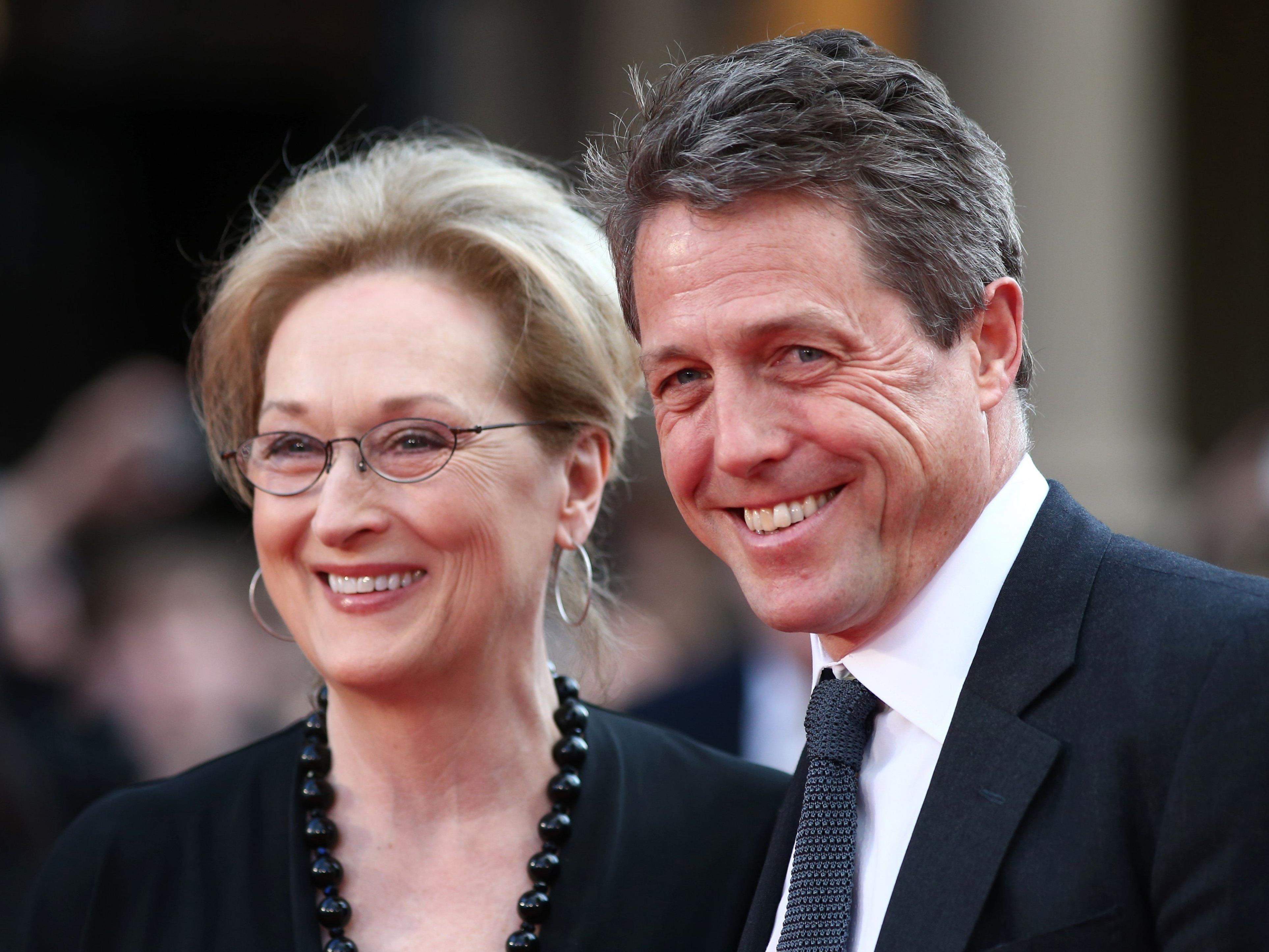 """""""Die Arbeit mit Meryl Streep war einschüchternd."""", erzählt der 56-Jährige."""