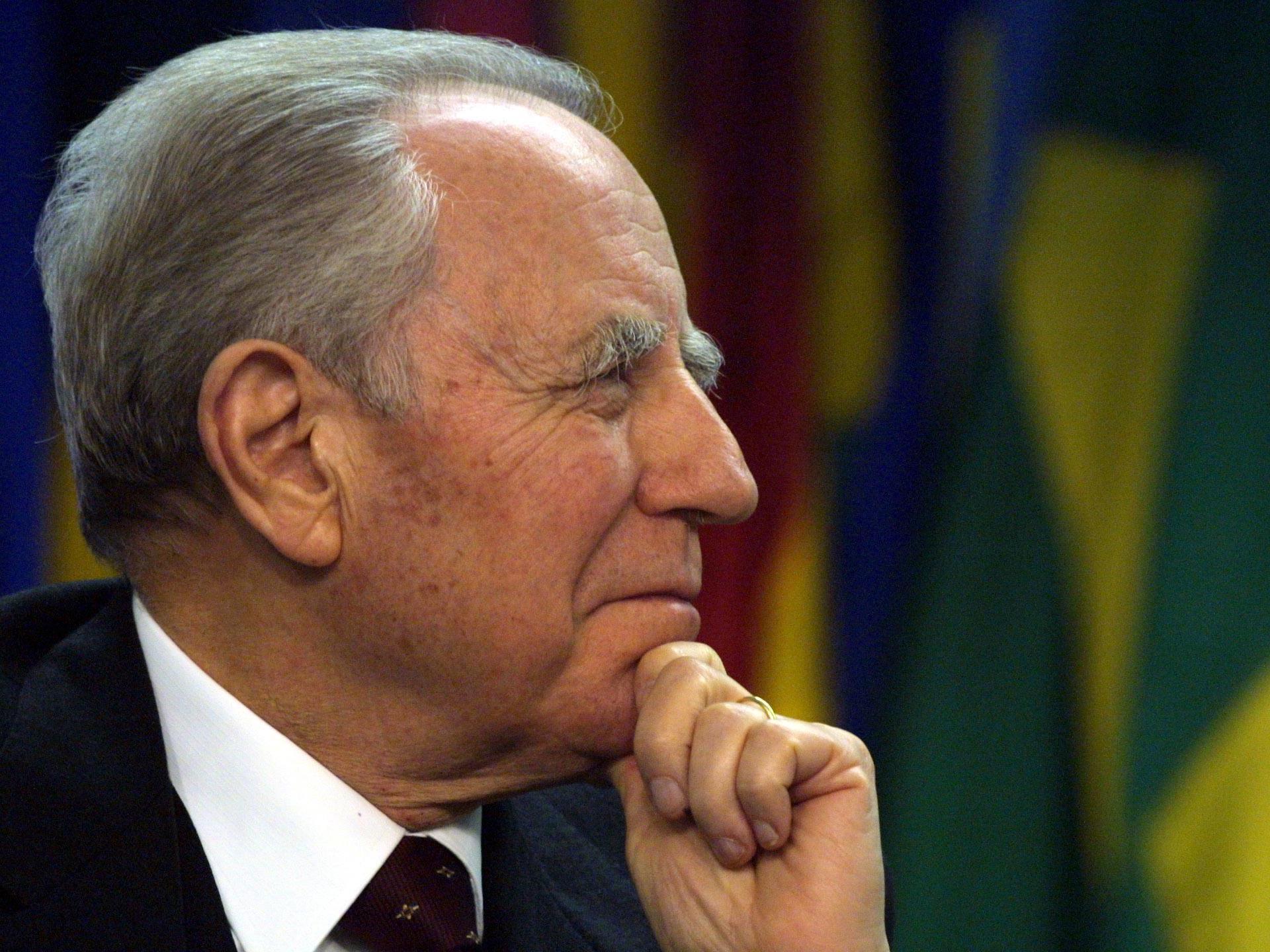 Carlo Azeglio Ciampi war zwischen 1999 und 2006 Italiens Staatschef.