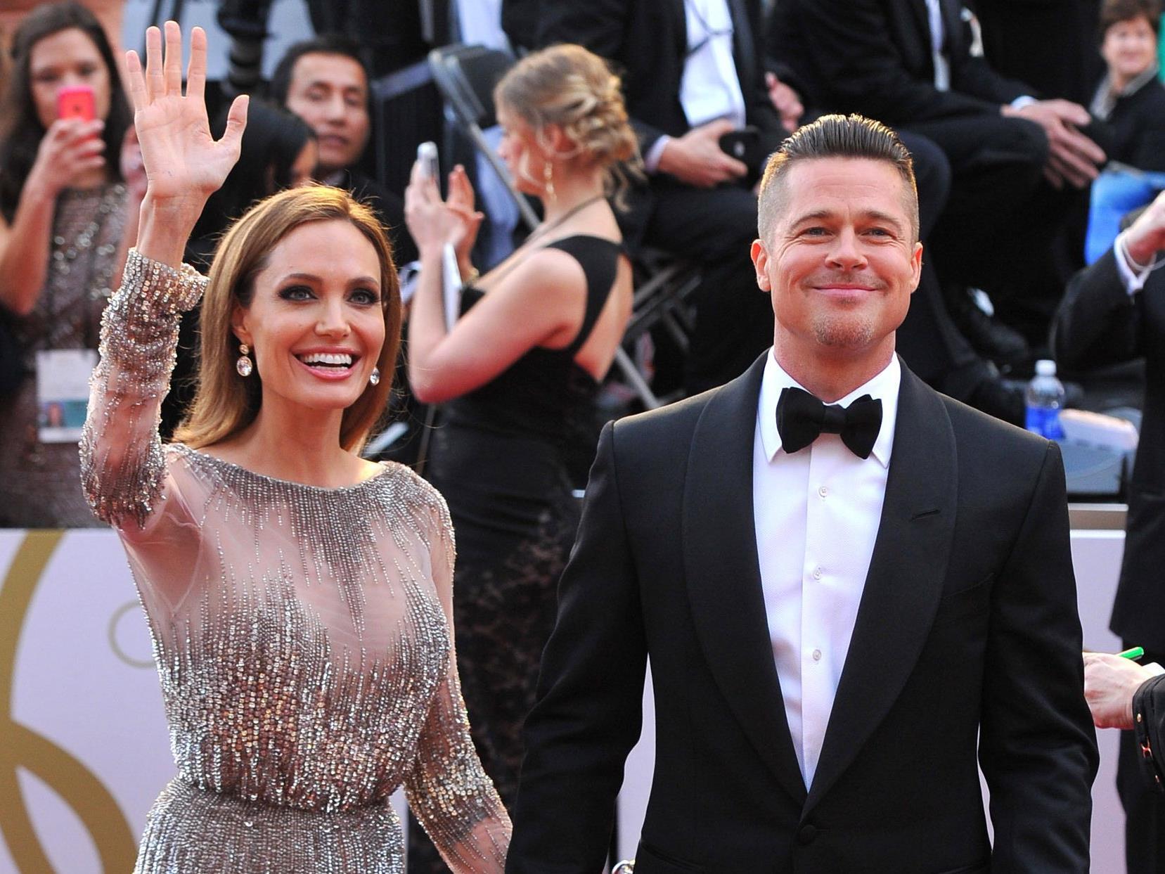 2014 bei den Oscars - da waren sie noch glücklich.